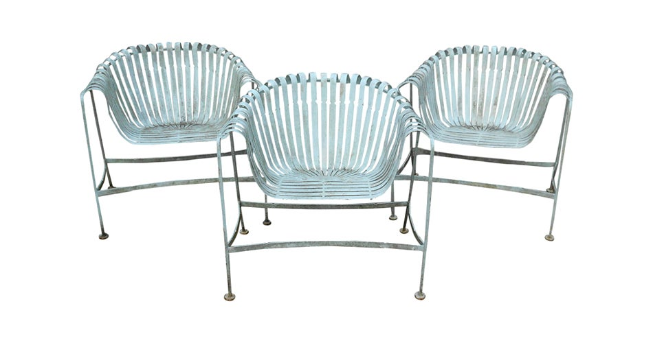 Rus Woodard Patio Lounge Chairs 1960s Offered By Carol Master Interiors