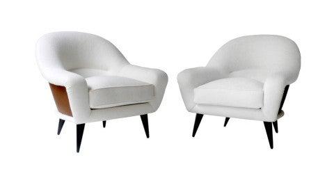Pair of Charles Ramos armchairs, 1955