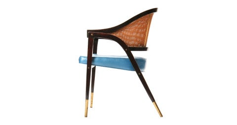 A-Frame chair, 1960s, by Edward Wormley, offered by Wyeth
