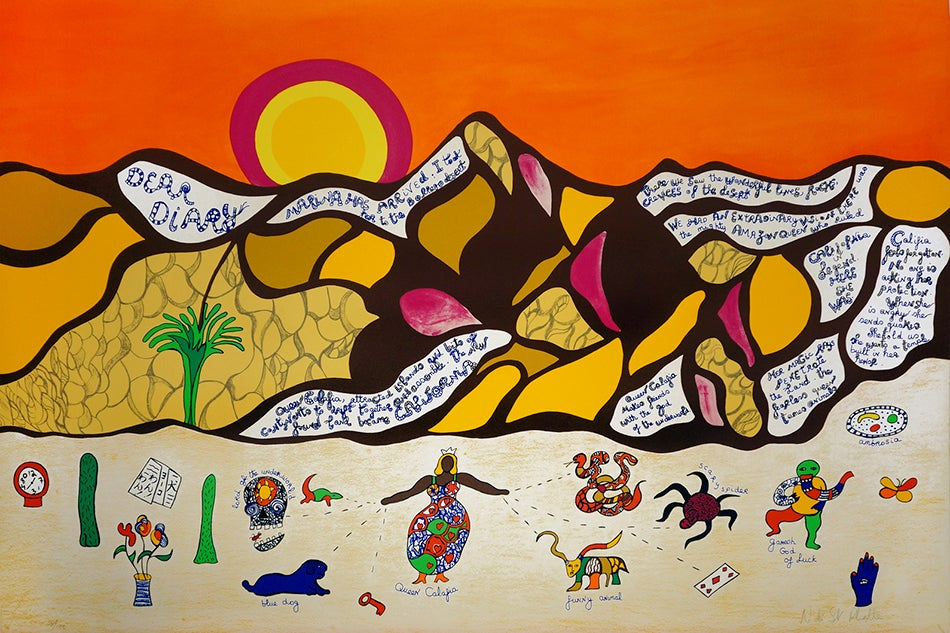 Niki de Saint Phalle's California Cavorting