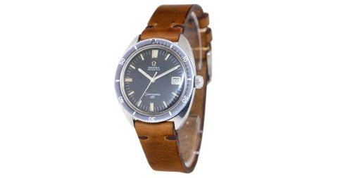 Stainless steel Omega Seamaster 120, 1960s, offered by Philippe's Watches