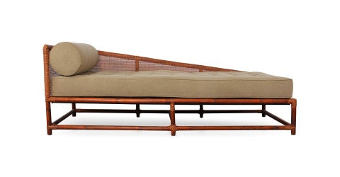 Tommi Parzinger for Willow and Reed daybed, 1950s, offered by Sputnik Modern