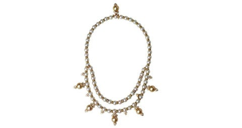 Van Cleef & Arpels cultured-pearl and diamond necklace, 1970s, offered by FD