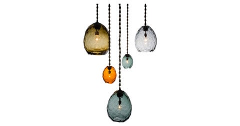 David Wiseman Glacier pendant, 2015, offered by R & Company