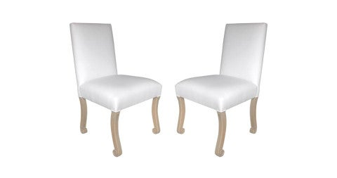 Set of 12 John Dickinson dining chairs, 1970s, offered by Jefferson West Inc.