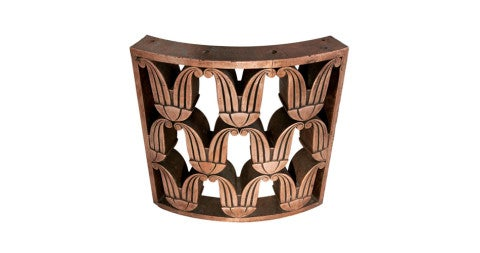 Art Deco copper railing, 1925, offered by Urban Archaeology