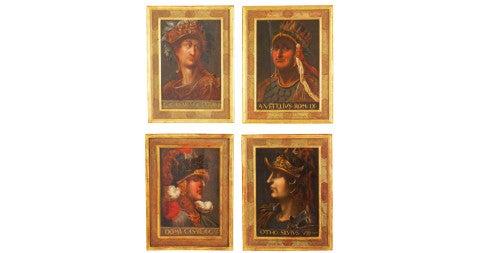 Roman Emperor paintings, 19th-century