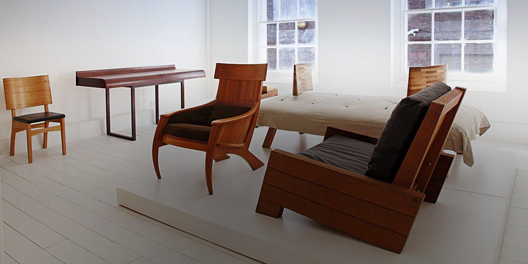 Modern brazilian furniture comes to london