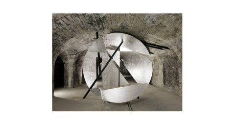<i>Rheims</i>, 2012, by Georges Rousse, offered by Sous Les Etoiles Gallery
