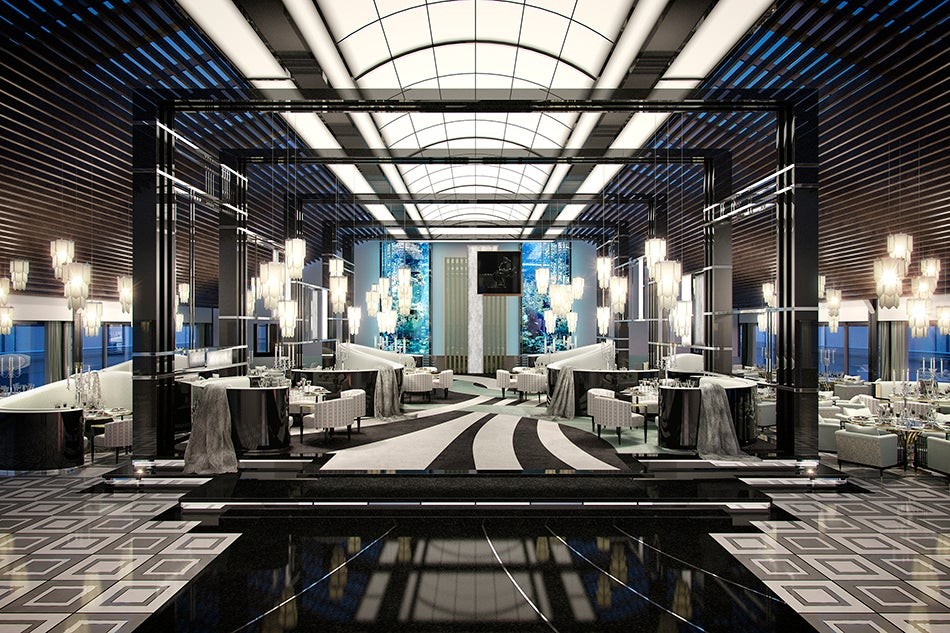 Nicola Fontanella Interior Design A Brit Does Bling With
