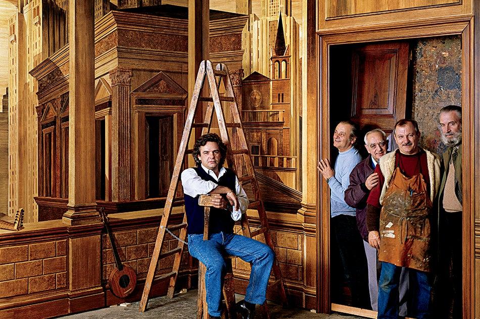 Renzo mongiardino who he was how he inspires cabana 39 s for Casa magazine