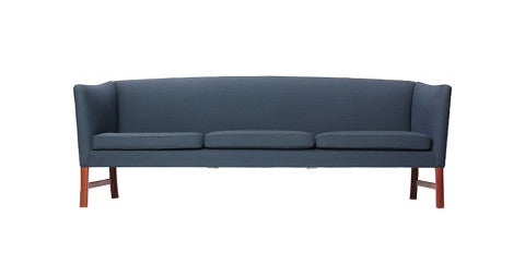 Ole Wanscher Tight Back sofa, 1950s, offered by WYETH
