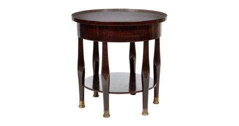 Adolf Loos circular table, 1908, offered by Woka Gallery