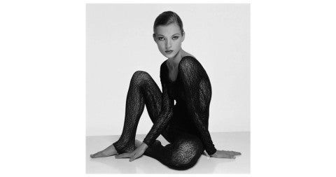 <i>Kate Moss,</i> 1993, by Terry O'Neill, offered by Preiss Fine Arts Photographers Limited Editions
