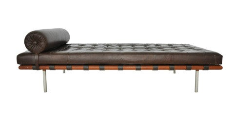 Mies van der Rohe for Knoll Barcelona daybed, 1970, offered by Modern Drama
