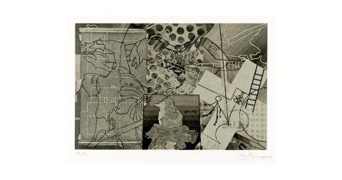 <em>Untitled</em>, 1997, by Jasper Johns, offered by Larissa Goldston