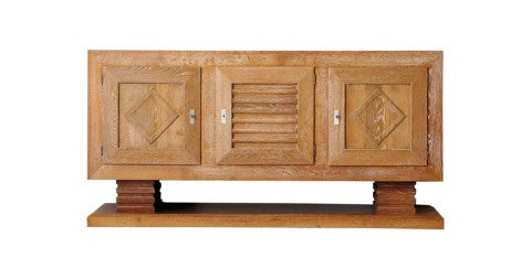 Charles Dudouyt credenza, 1940s, offered by Morentz
