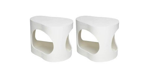 Jacques Jarrige Cloud side tables, 2015, offered by Valerie Goodman Gallery