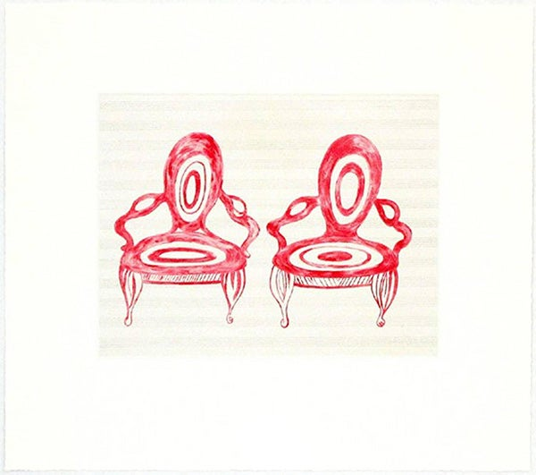 Louise Bourgeois, Twosome, 2005, offered by Marlborough Graphics