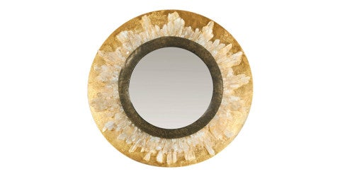 Mirror in the style of Goosens Paris, 1960, offered by Roark