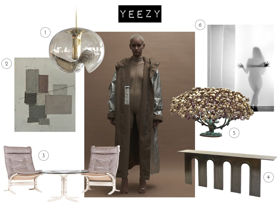Fashion disruptors kanye west jeremy scott for Interieur yeezy