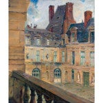 Les Toits, Fontainebleau,ca.1903, by Walter Gay