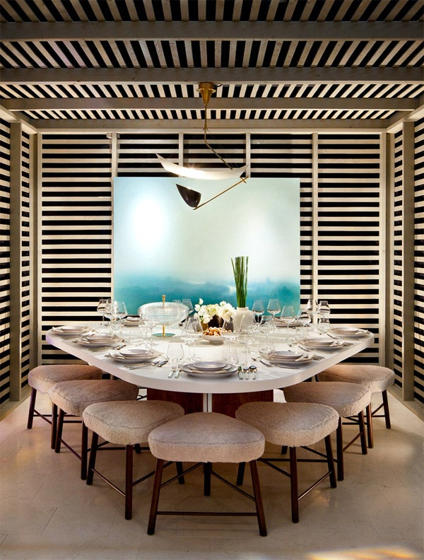 Shawn Hendersons Room For The 2012 Dining Design Event Benefitting Nonprofit DIFFA