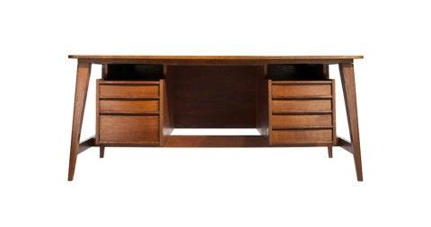 Michel Mortier desk, 1949, offered by Demisch Danant