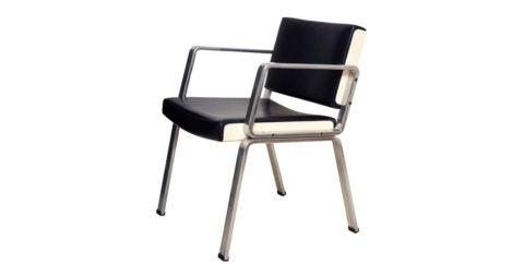 Alain Richard desk chair, 1972, offered by Demisch Danant
