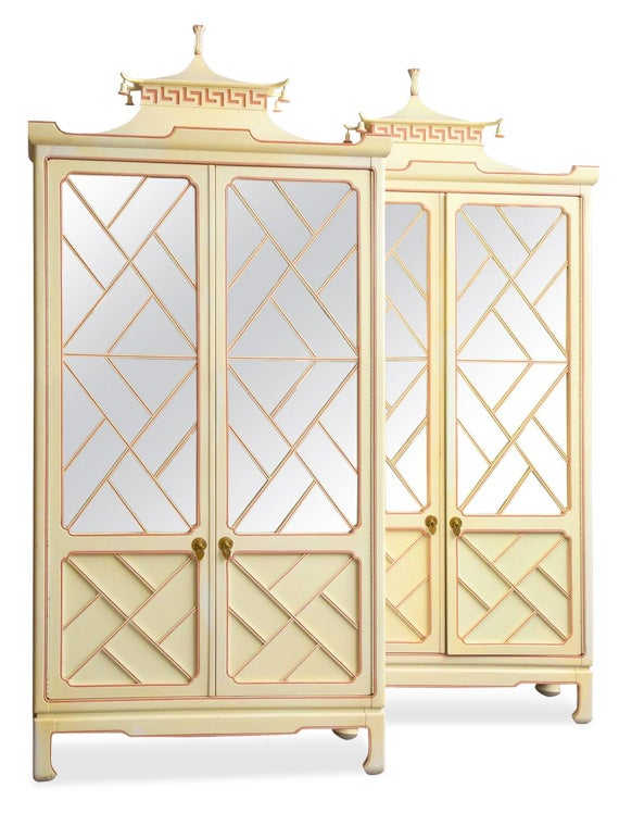 Pair of Chinoiserie Two-Door Cabinets. https://www.1stdibs.com/furniture/storage-case-pieces/cabinets/pair-of-chinoiserie-two-door-cabinets/id-f_3678632/
