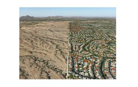 <i>Salt River Pima-Maricopa Indian Reservation/Suburb, Scottsdale, Arizona,</i> 2011, by Edward Burtynsky, offered by Rena Bransten
