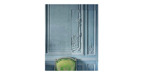 <i>Boiserie by the brothers Rousseau Boiserie detail,</i> 2008, by Robert Polidori, offered by Paul Kasmin Gallery