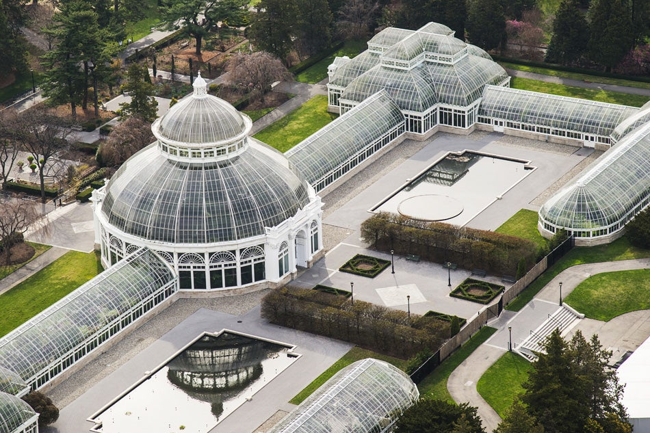 The Recently Re Editioned And Expanded Book The New York Botanical Garden  Features New Photographs By Larry Lederman, Like This Aerial Shot Of The ...