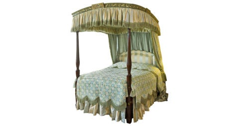 George III four-poster bed, ca. 1780