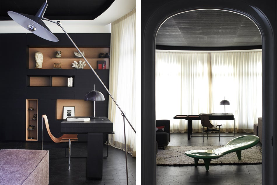 the dynamic french architectural duo of bismut bismut 1stdibs introspective. Black Bedroom Furniture Sets. Home Design Ideas