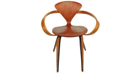 Norman Cherner for Plycraft chair, 1950s, offered by idealforms