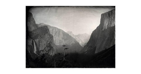 <i>Tunnel View, Yosemite,</i> 2012, by Ian Ruhter