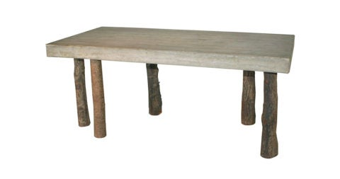 Jens Peter Schmid table, 1986, offered by Demisch Danant