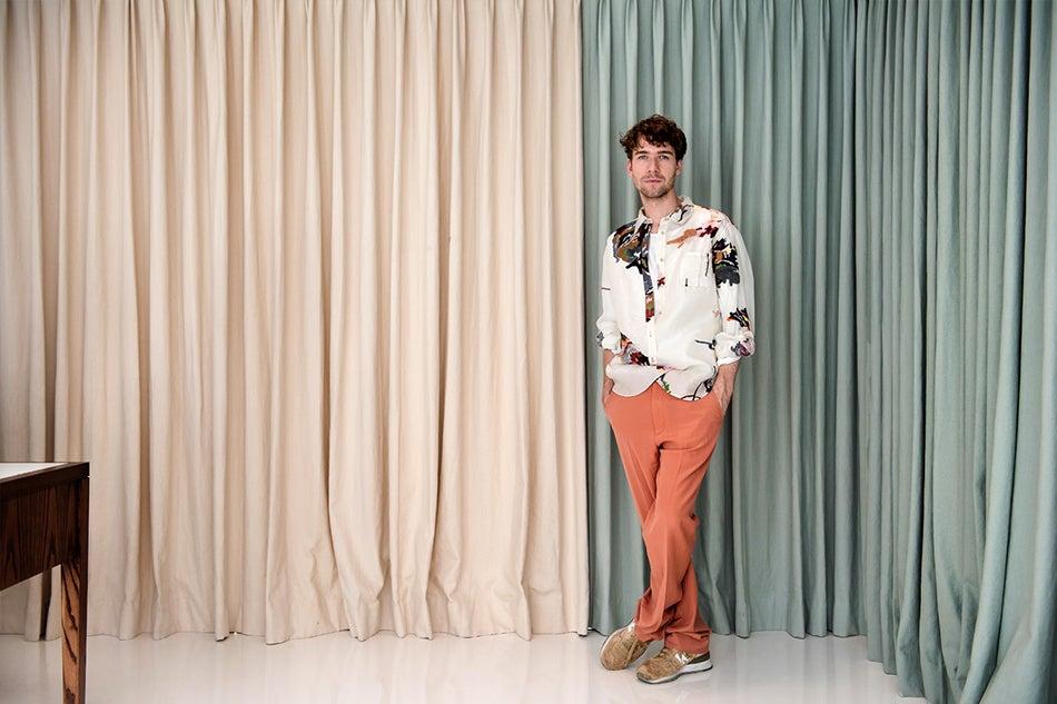 Sander Lak Is a Fashion Darling with a Vintage Furniture Habit