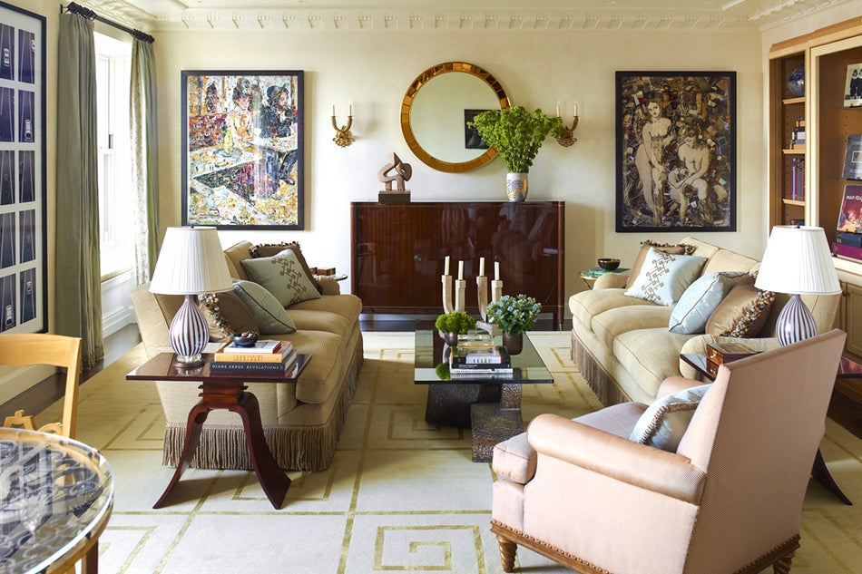 Inspired By French Art Deco Design And 1940s Movie Interiors Cullman Kravis Transformed This Pied Terre Into A Retreat That Highlights The Owners