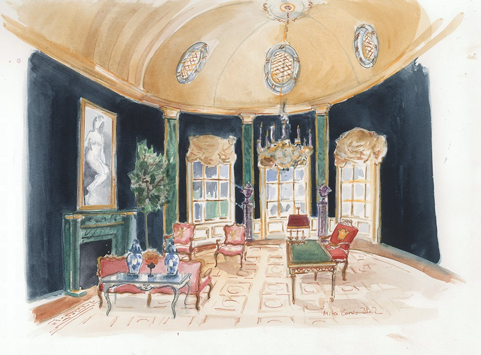 Oval Office Paintings. David Netto Oval Office Paintings