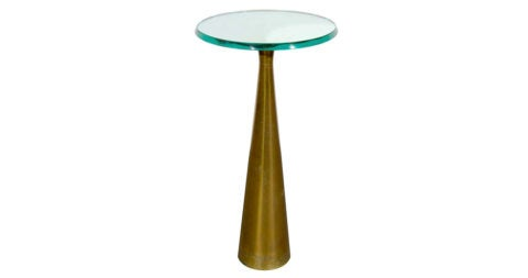 FontanaArte occasional table, 1950s, offered by Maxfield