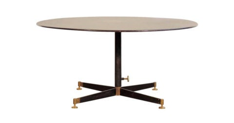 Ignazio Gardella adjustable low table, 1950s, offered by Deco XXe Secolo