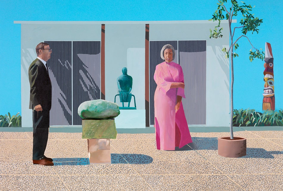 David Hockney Is Supersized and in Living Color