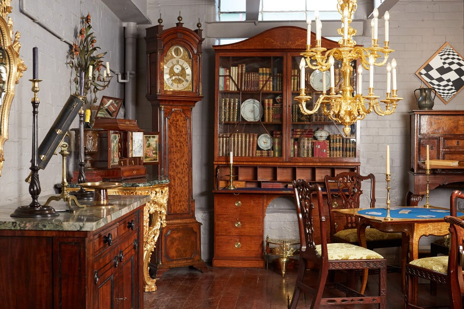 Fine Antiques and Five Generations of Family at John Bly