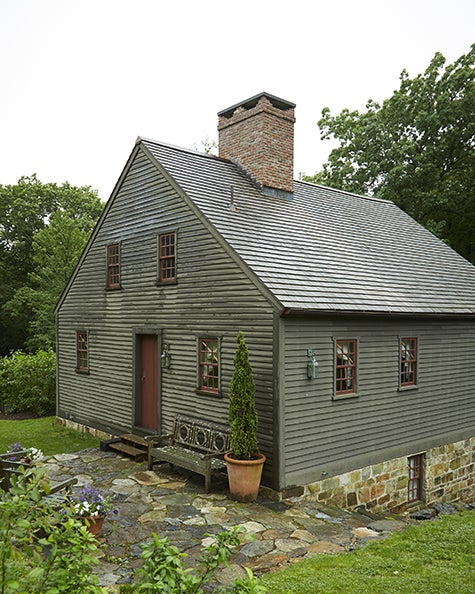 Jeffrey Morgan and Robert Couturier Restore an Early American House