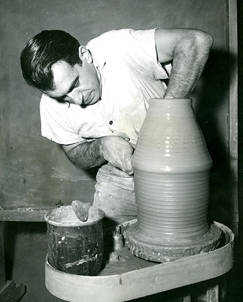 A New Focus on Mid-Century Ceramist Peter Voulkos