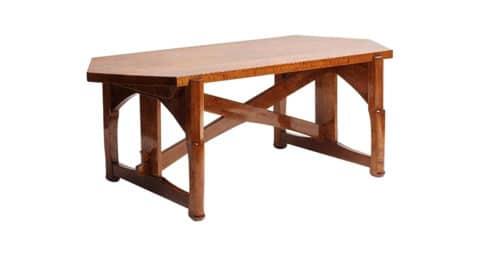 Jugendstil table, 1910-15, offered by Maison Gerard