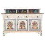 Bloomsbury circle painted sideboard, circa 1925