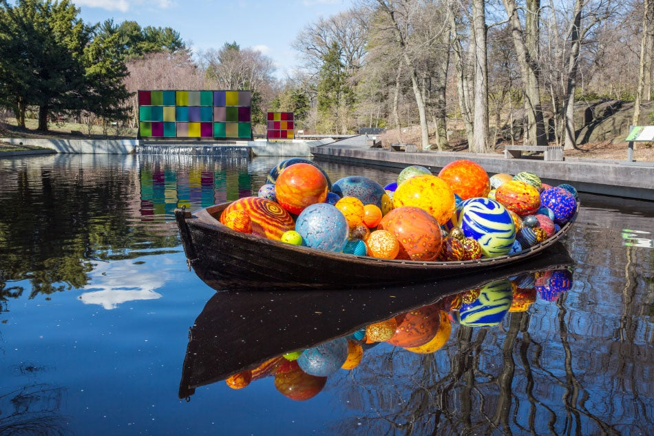 Dale Chihuly Returns To The New York Botanical Garden 1stdibs Introspective